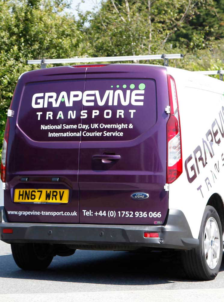 Grapevine Transport van